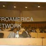 Paul Kagame and Sylvester Mudacumura  in Arusha, Tanzania in 1993