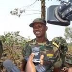 FARDC Commander Colonel Mamadou Ndala Moustafa on the Battlefront Near Goma