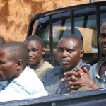Rwandan Young Men Being Rounded Up