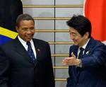 Jakaya Kikwete Shinzo Abe Tokyo May 302013
