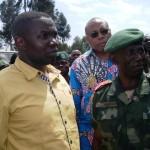 North Kivu Governor Paluku and  FARDC Regional Commander Gen Bauma Ambamba