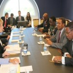 Tanzanian President Received at the Capitol Hill on September 20, 2013 by US Rep Kay Grange