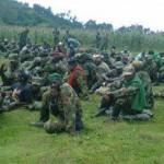 M23 Rebels in Rwanda in March 2013