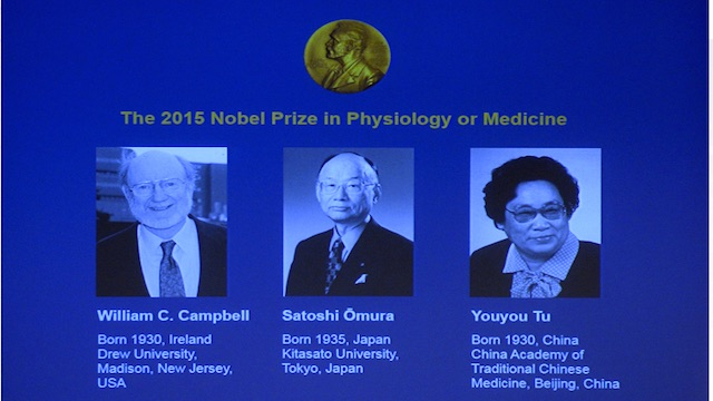 2015 Nobel Prize Winners: Medicine and Physiology