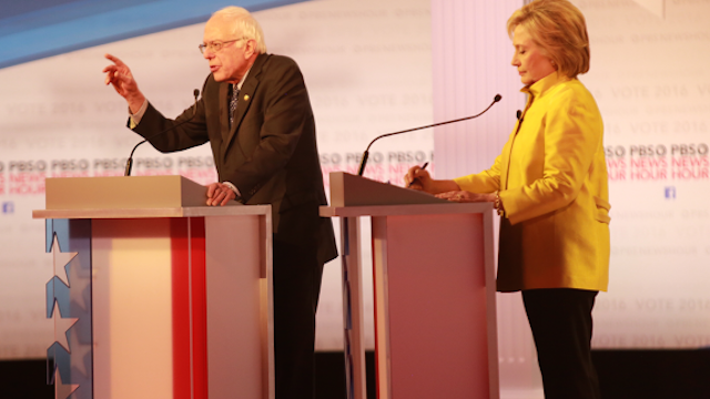 Bernie Sanders and Hillary Clinton, Democratic Primaries Debate
