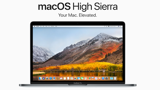 Apple  Mac OS X High Sierra