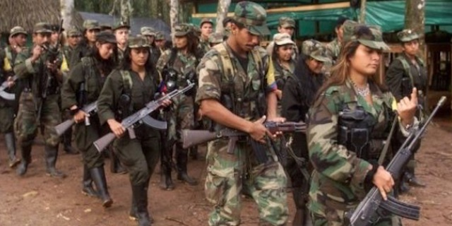 FARC leaders and combatants