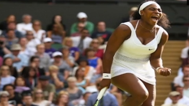 American Serena Williams beats Spaniard Garbine Muguruza in Wimbledon and wins Her 21 th Grand Slam title