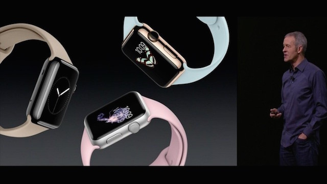 Apple Media Event September 9, 2015: New armbands for sport watches