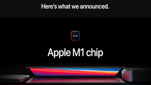 Apple One More Thing M1 Chip 2020 11 10