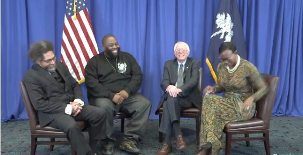 Bernie Sanders, Cornell West, Killer Mike and Nina Turner Faced Clinton's Oiled Political Machine in Southern States