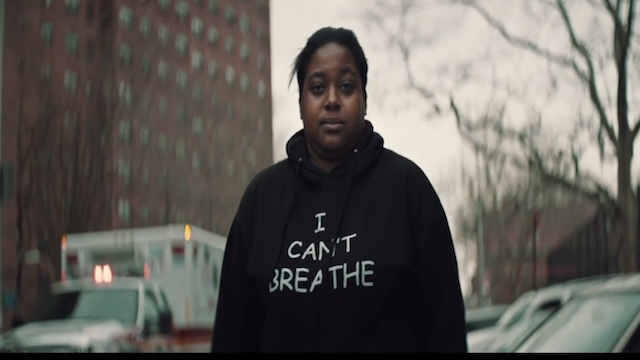 Civil Rights Activist Erica Garner