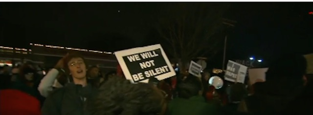 Reaction on Michael Brown Case No Indictment Announcement on November 24, 2014
