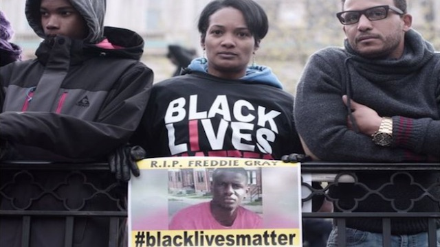 Freddie Gray Death: Protesters in Baltimore