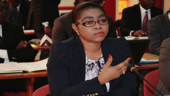 Rose Christiane Raponda as Gabon Finance Minister in 2019