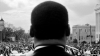 Rev Martin Luther King Jr at Selma March 1965